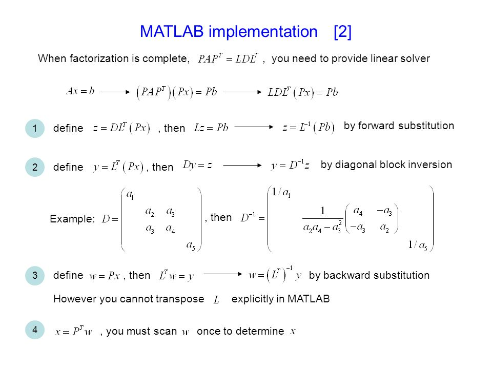 MATLAB implementation [2]